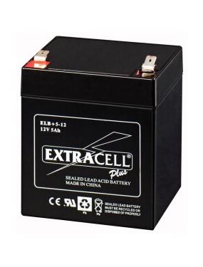 Extracell - Batteria ricaricabile piombo 12V 5Ah