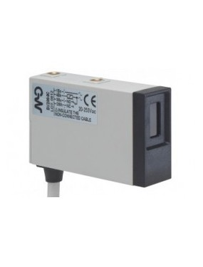 Micro Detectors BV6/00-0E - Fotocellula Rettangolare Riflessione Diretta 20/253VAC Connettore M12