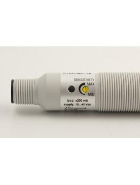 Micro Detectors - Sensore capacitivo M18 plast. schermato PNP NO+NC connettore M12