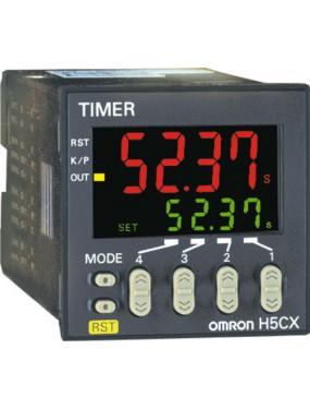 Omron H5CX-A11D-N - Temporizzatore digitale da pannello 24VDC 12/24DC-24AC
