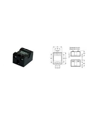 Elco SSR08-50240AS - Rele' statico 3-32VDC / 24-280VAC 50A 44x58