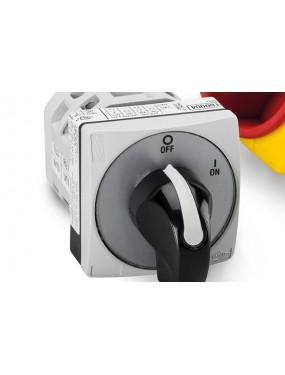 BREMAS CR0200031RT4- Interruttore Per Motore Monofase Con Fase Aux 20A 0-1 MOSTRINA 48X48