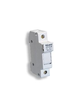 Wimex 5450105S - Portafusibile Sez. 10,3x38 4 Moduli