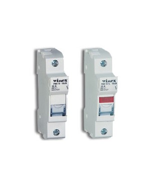 Wimex 5450235 - Portafusibile Sez. 22x58 4 Moduli