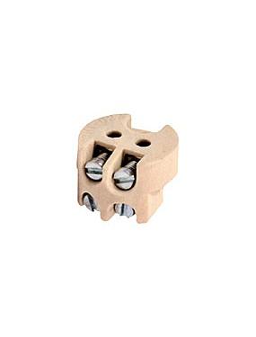 Wimex 4285542 - Portalampade Per Lampade Alogene Steatite A Vite