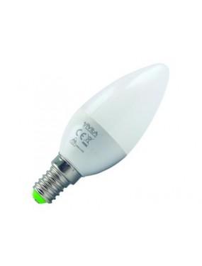 Lampada Led A Candela 5W WW E14